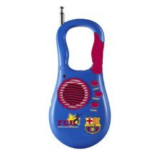 Barcelona Pocket Radio - Official Football Club Sporting Goods Accessory -  official barcelona football club pocket radio sporting goods accessory