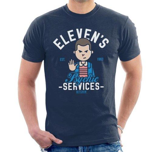 Stranger Things Elevens Psychic Services Men's T-Shirt