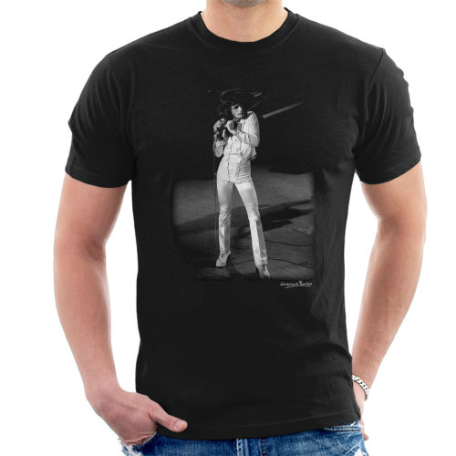 Howard Barlow Official Photography - Freddie Mercury Queen Manchester Palace 1974 Men's T-Shirt