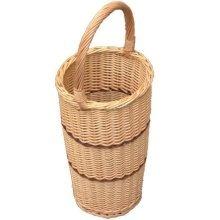 Umbrella Walking Stick Wicker Basket with Handle
