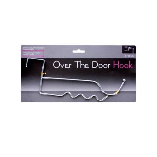Bulk Buys OC174-24 Over The Door Chrome Hook