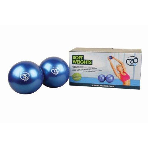 1.5kg Balance Ball Weights - Soft 2 x 15kg Fitnessmad Strength -  soft weights 2 x 15kg fitnessmad strength
