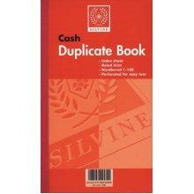 Silvine Duplicate Book 8.25x5 Cash 608 - Pack Of 6 -  silvine duplicate book cash ruled feint 1100 2115x1255mm ref 608 pack