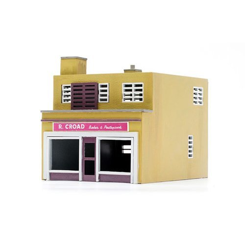 OO Building plastic kit (village house) - Shop & Flat - Dapol Kitmaster C031
