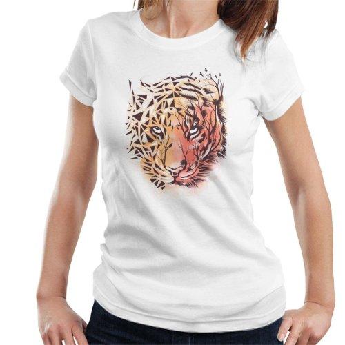 Geometric Tiger Women's T-Shirt