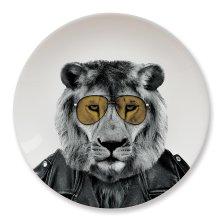 Wild Dining - Lion - Animal Plates Party Panda Gorilla Ceramic Novelty Dinner -  wild dining lion animal plates party panda gorilla ceramic novelty