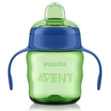 Philips Avent 7oz Easy Sip Spout Cup in Blue Scf551/15