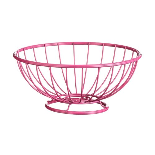 Helix Fruit Basket, 26 cm - Hot Pink