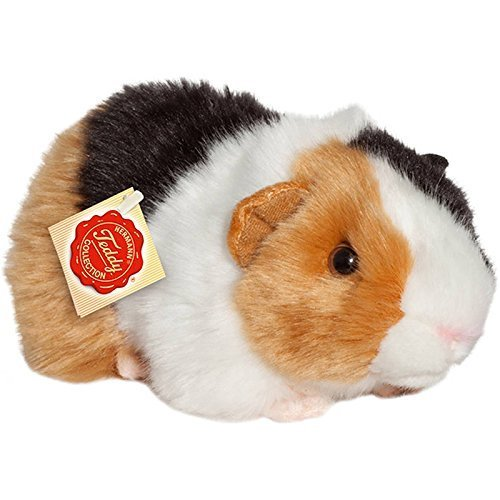 Hermann Teddy Collection 926405 20 cm Three Colours Guinea Pig Plush Toy
