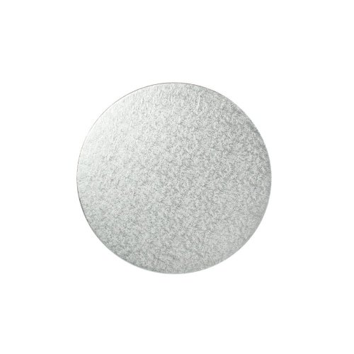 "16"" Thin Silver Round Cake Board 3mm Thick"