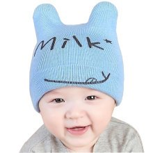 Baby Boys Girls Keep Warm Head Cap New Born Baby Winter Hats Soft Hat-A3