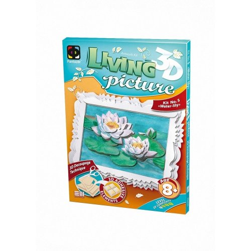 Elf956025 - Fantazer 3d Living Picture - Water-lily