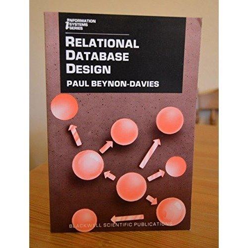 Relational Database Design (information Systems)