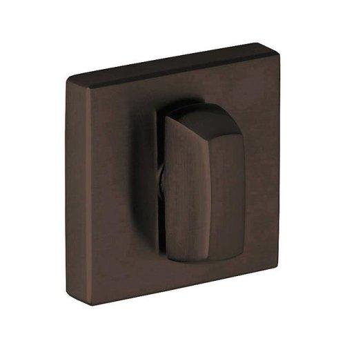 Baldwin 6733102 Square Turn Piece, Oil-Rubbed Bronze