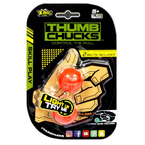 Thumb Chucks ZG888 Detachable LED Pulse Light
