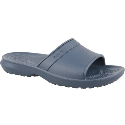 Crocs Classic Slide Kids 204981-410 Kids Navy Blue slides Size: 3 UK