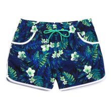 Hot Spring Beach Pants Women's Quick-drying Slacks Holiday Swimsuit,L Size,B4