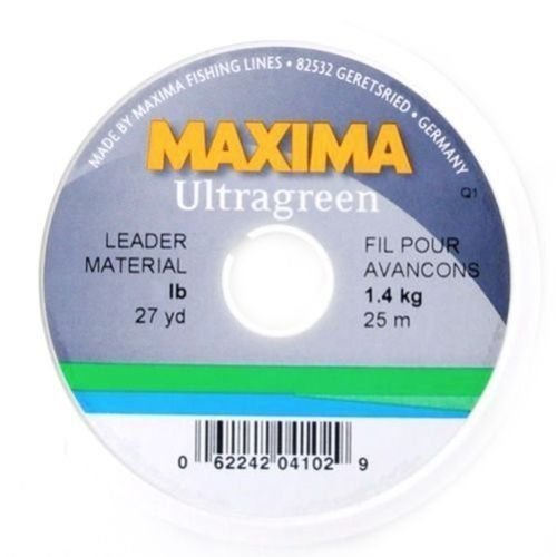 Maxima Leader Wheel (25-Pound Test ), Green, 27-Yard