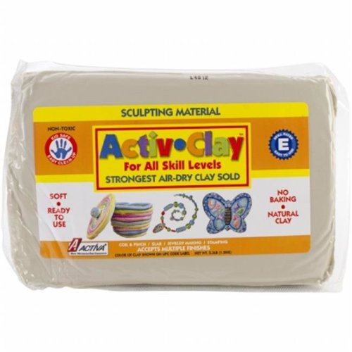 Activ-Clay Air Dry 3.3lb-White