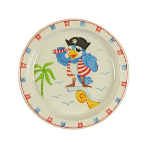 3 Pieces Of Fashion Cartoon Seabirds Pattern Drop Resistance Plate