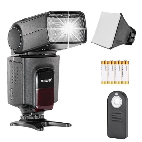Neewer TT560 Speedlite Flash Kit for Canon Nikon Olympus Fujifilm and any Digital Camera with a Standard Hot Shoe Mount