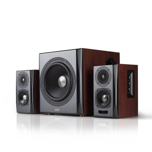Edifier S350DB 2.1channels 150W Black, Wood speaker set