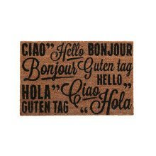 """Greetings"" Coir Doormat"
