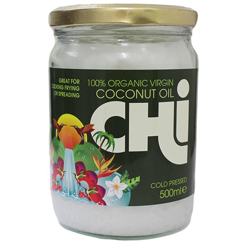 Chi 100% Organic Virgin Coconut Oil 455g