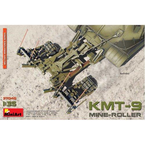 MIN37040 - Miniart 1:35 - Mine-Roller KMT-9
