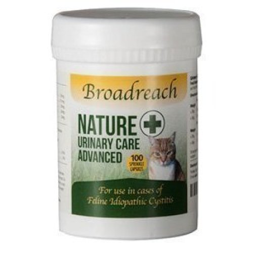 Broadreach Nature + URINARY, CYSTITIS AND CALMING Supplement for Cats - AWARD WINNING PRODUCT! - Natural Ingredients - Advanced UK Veterinary...