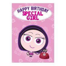 Birthday Card - Special Girl