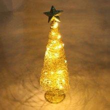Sprinkling Golden Christmas Tree Lamp
