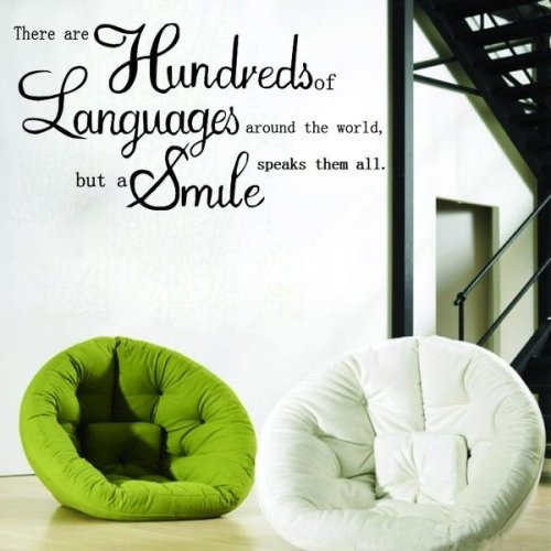 English Proverbs Wall Sticker Decal Wallpaper Home Decor