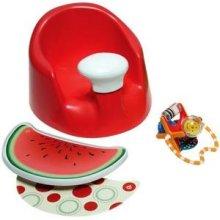 Prince Lionheart Bebepod Flex Plus Red - Watermelon Baby Seat -  prince lionheart bebepod flex plus red watermelon baby seat