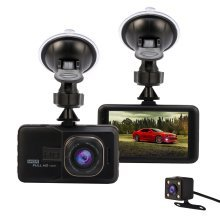 "Dash Cam Car Camera Full HD 1080P 3.0"" Dashcam Video Recorder DVR"