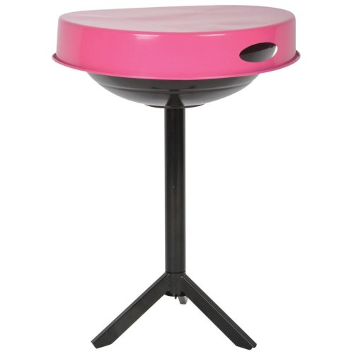 Esschert Design BBQ Table Carbon Steel Pink FF250