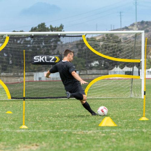 Sklz Goalshot Football Practice Shot Target Net for Full Size Goal