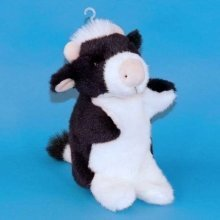 Dowman Cow Hand Puppet Soft Toy 28cm