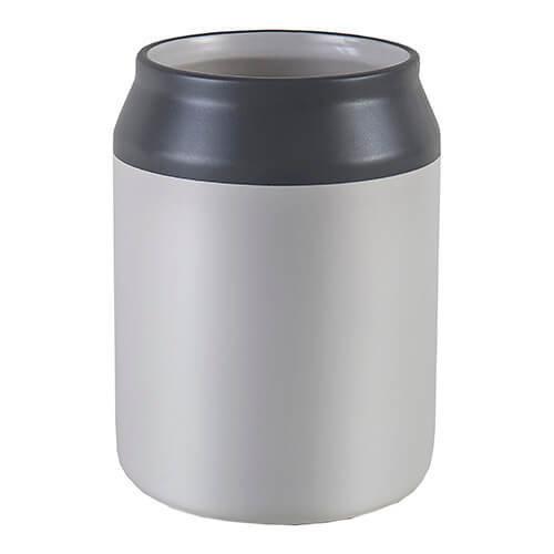 Jamie Oliver Utensils Pot, Ceramic, White/Blue, 12 x 12 x 15.9 cm