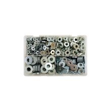 Zinc Plated Washers - Table Flat - Assorted - Box Qty 530