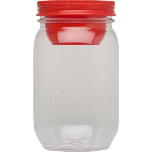 Aladdin Classic Mason Salad Jar (1 Litre) Tomato