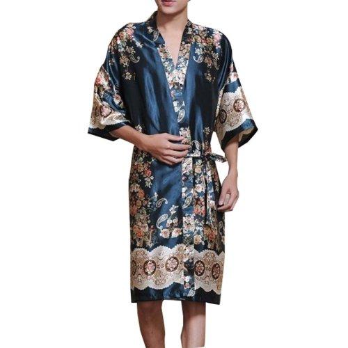 Khan Steamed Clothes Men's Pajamas Bathrobes Kimono Robes Men's Kimono Pajamas