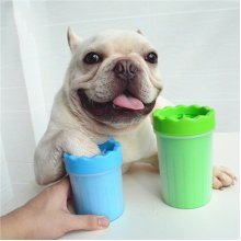 Portable Soft Gentle Silicone Dog Paw Brush Cup Cleaner