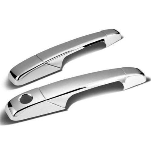 Atomsonic AMS1396C Chrome Door Handle Cover for 2007-2014 Chevrolet Avalanche