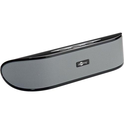 Goobay SoundBar - Stereo Speaker with USB Plug 'n Play and AUX-in, black