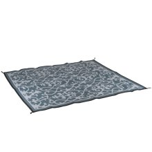 Bo-Leisure Outdoor Rug Chill mat Picnic 2x1.8 m Grey 4271014