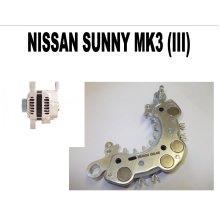 NISSAN SUNNY MK3 (III) 1.4 1.6 1990 - 95 NEW ALTERNATOR RECTIFIER