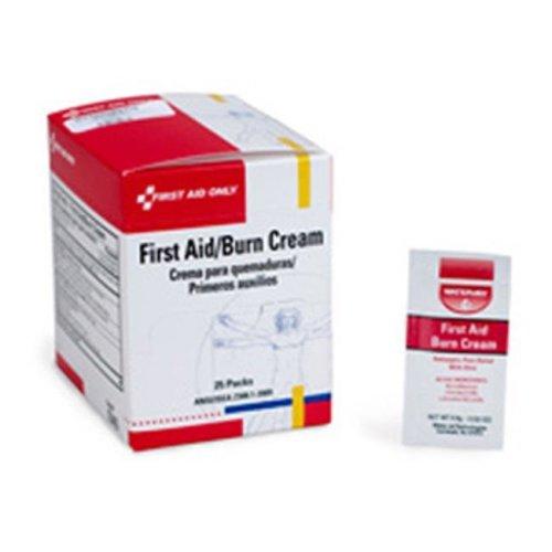 First Aid Only H343 First Aid Burn Cream - 25 per Box