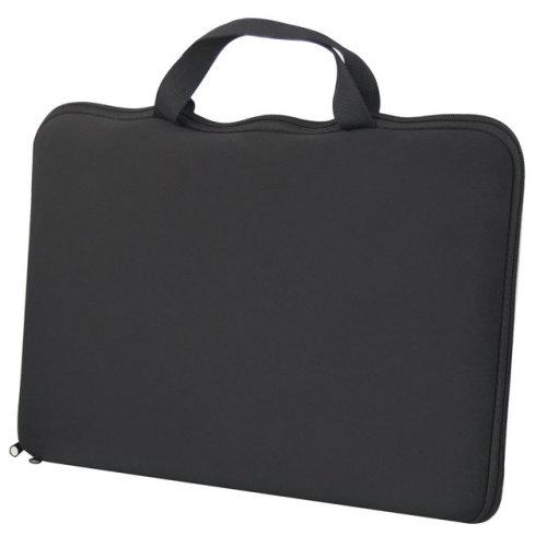TRIXES 15.6 Stylish Black Laptop Notebook Sleeve