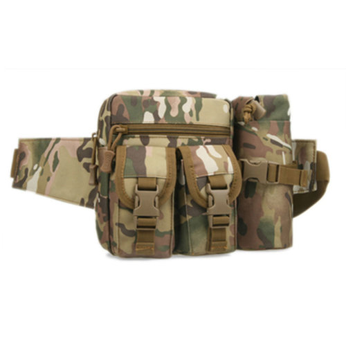 Outdoor Tactical Kettle Sports Waist Packs/Multi-function Travelling Bag CP